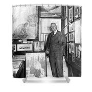 Arthur Conan Doyle Shower Curtain