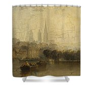 Arthur James Meadows Shower Curtain