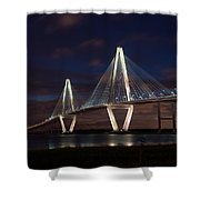 Arthur Ravenel At Night Shower Curtain