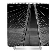 Arthur Ravenel Jr Bridge Shower Curtain