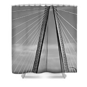 Arthur Ravenel Jr Bridge II Shower Curtain