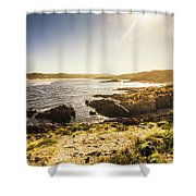Arthur River Tasmania Shower Curtain