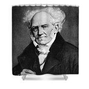 Arthur Schopenhauer Shower Curtain