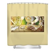 Articles Of The Barons 2 Shower Curtain