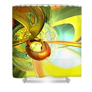Articulate Design Abstract Shower Curtain