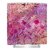 Artificial Flowers Shower Curtain