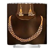Artificial Kundan Jewellery Online Shower Curtain