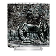 Artillery At Pickettes Charge Shower Curtain