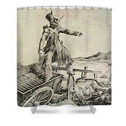 Artillery Caisson Shower Curtain