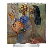 Artist And Model Shower Curtain