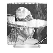 Artist Self Portrait Shower Curtain