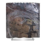 Artist Sidewalk 1 Shower Curtain