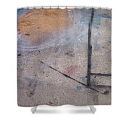 Artist Sidewalk 2 Shower Curtain