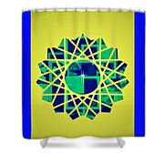 Artistic Flare Shower Curtain
