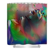 Artistic Frost Shower Curtain