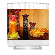 Artistic Glass 2 Shower Curtain