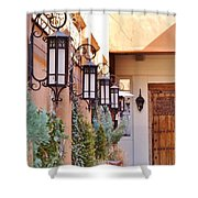 Santa Fe Garden Courtyard Shower Curtain