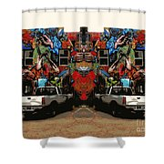 Artistry Abounds Shower Curtain