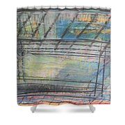 Artists' Cemetery Shower Curtain