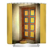 Arts Center Door Shower Curtain