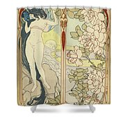 Artwork For La Portes Des Reves Shower Curtain