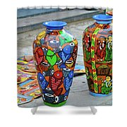 Artwork Large Vase Shower Curtain