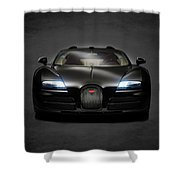 Bugatti Veyron Shower Curtain