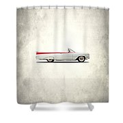 Oldsmobile Dynamic 88 1959 Shower Curtain by Mark Rogan