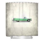 Oldsmobile Super 88 1958 Shower Curtain by Mark Rogan