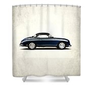 Porsche 356a 1958 Shower Curtain