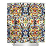 Jerome 8 Shower Curtain