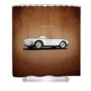 Porsche 550 Shower Curtain