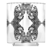 wudu 2 XXXXV Shower Curtain