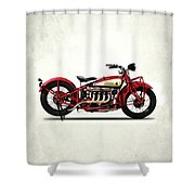 Indian 401 1928 Shower Curtain