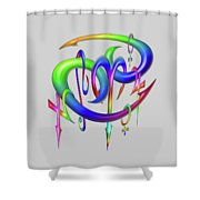 Sinful  Shower Curtain