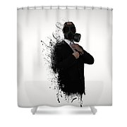 Dissolution Of Man Shower Curtain