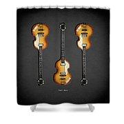 Hofner Violin Bass 62 Shower Curtain