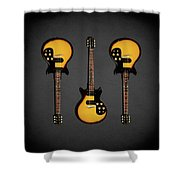 Gibson Melody Maker 1962 Shower Curtain