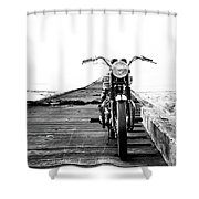 The Solo Mount Shower Curtain