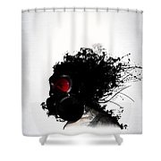 Ghost Warrior Shower Curtain
