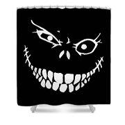 Crazy Monster Grin Shower Curtain
