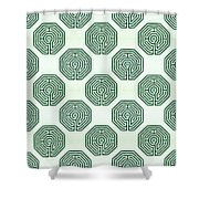Cologne - Origami Paper Shower Curtain