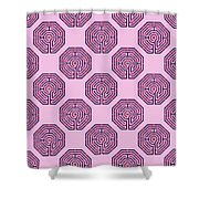 Cologne - Plums Shower Curtain
