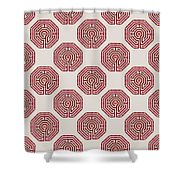 Cologne - Red Earth Shower Curtain