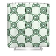 Reims - The Green Path Shower Curtain