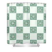 Roman - The Green Path Shower Curtain