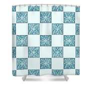 St Omer - Blues Shower Curtain