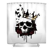El Rey De La Muerte Shower Curtain