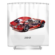 The Toyota 2000 Gt Shower Curtain