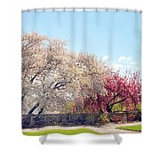 Untermyer Park Views Shower Curtain